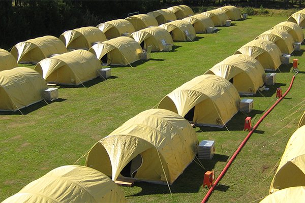 Shelter solluntions tents